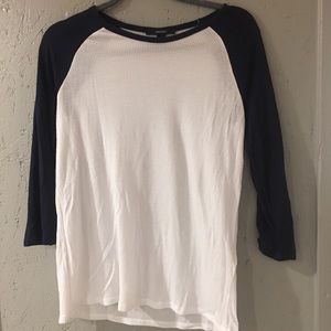 Forever 21 Waffle Knit Top